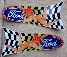 stickers-autocollants-ford-pinup